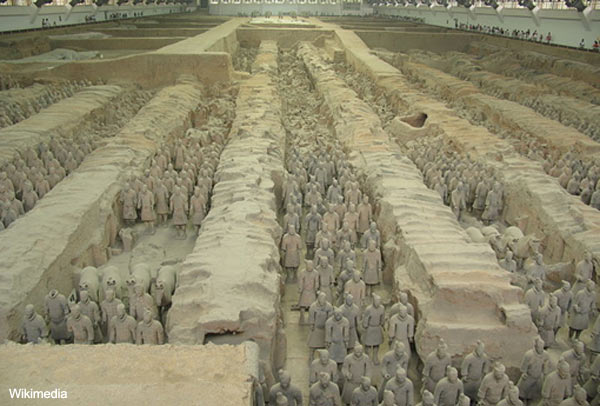 The Terracotta Army - China
