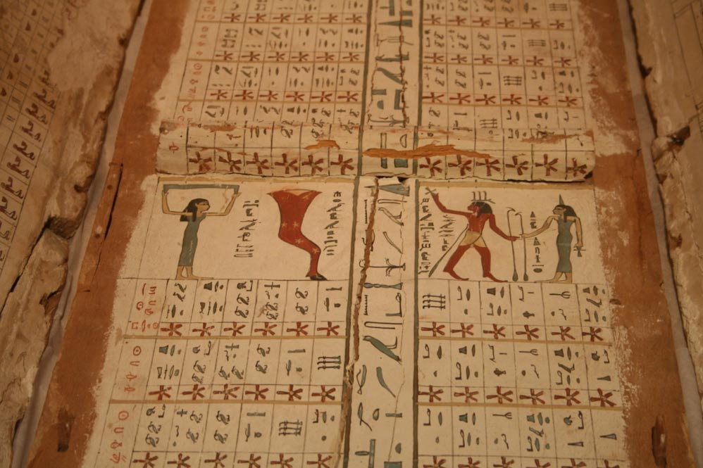 Star charts reveal how ancient Egyptians planned to navigate
