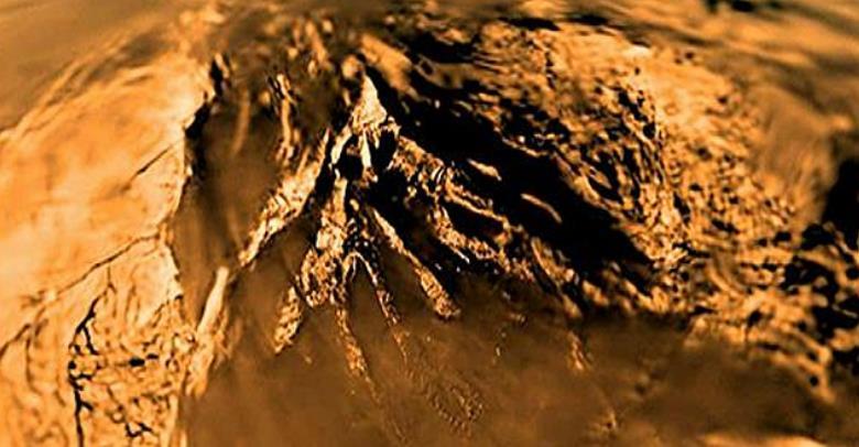 Surface of Titan - Saturn
