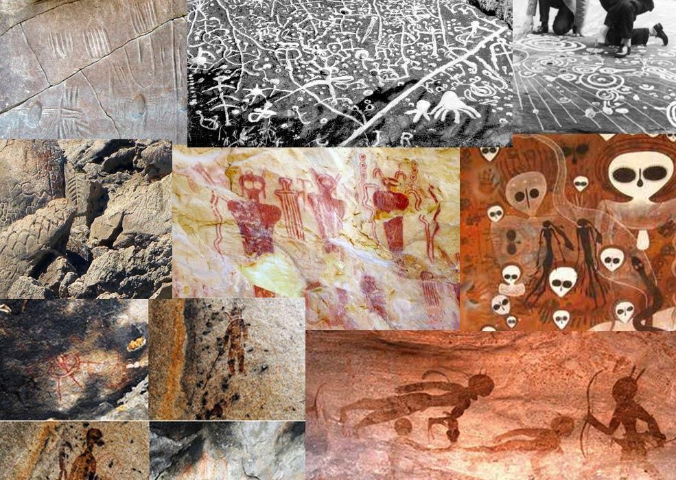 Diez ejemplos asombrosos de Arte Rupestre del Mundo Antiguo