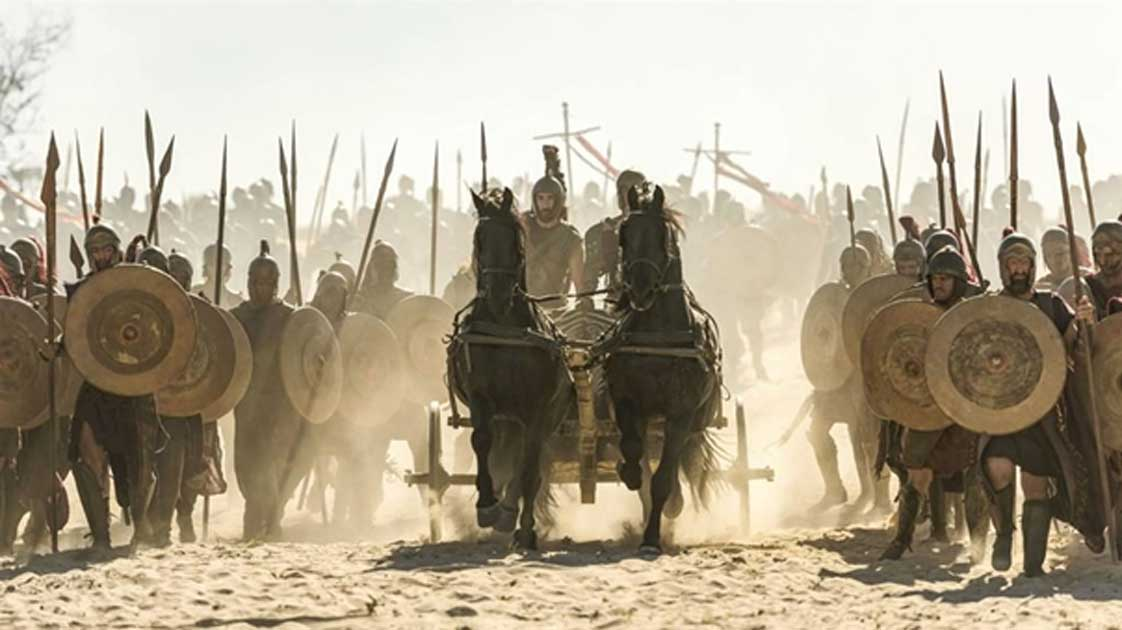 Still from Troy, Fall of a City