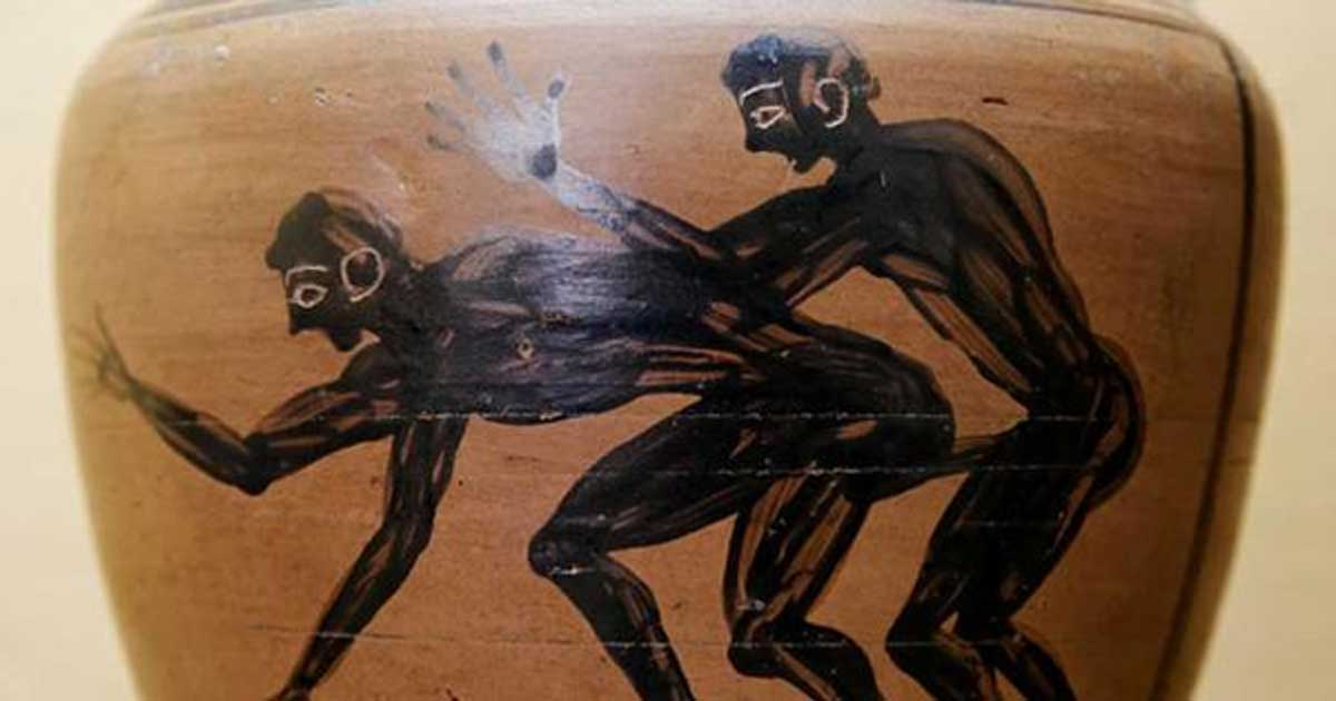 Greek sexuality art