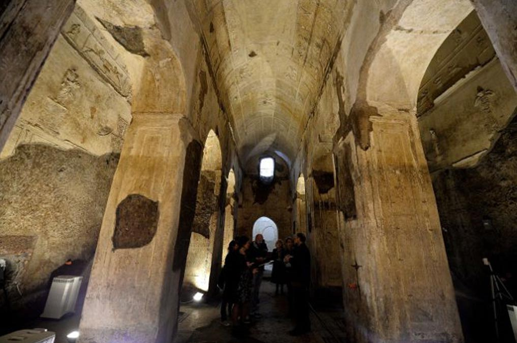 Underground Pagan Basilica With Dark History Revealed To The Public For The First Time Ancient