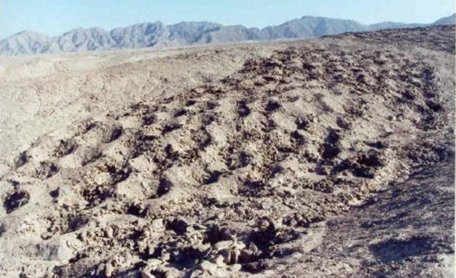 Miles-long band of mysterious and unexplained holes in Pisco Valley - Peru