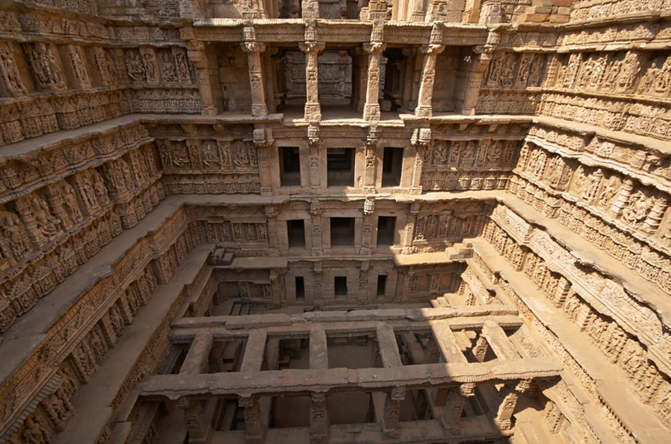 Rav-ki-Vav Stepwell at Patan, Gujarat, India
