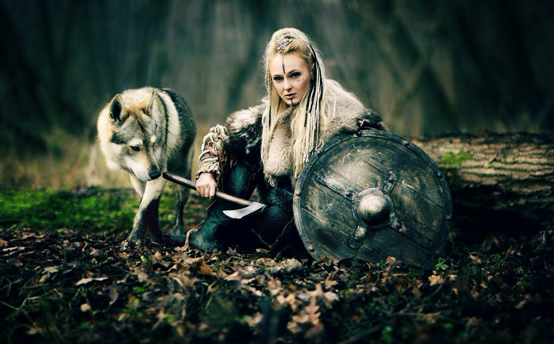 Representational image of a Viking warrior woman (DPVUE Images / Adobe Stock)