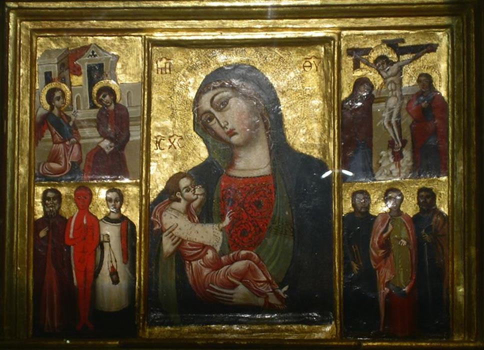 "Image of ""Our Lady, Mother of Grace,"" Trsat, Croatia (prob. 12th cent.)"
