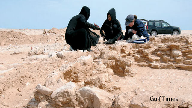Seventh century Islamic dwelling in Qatar - Al Wakrah