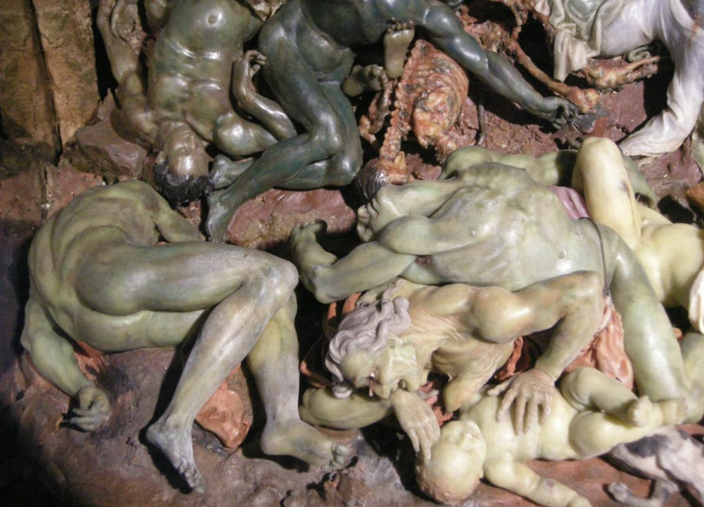 La Peste (1695) wax sculpture, Gaetano Zumbo, Museum of Specola, Florence