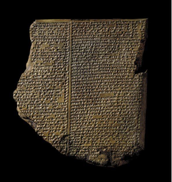 The Flood Tablet. (Image: The Trustees of the British Museum)
