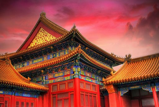 The spectacular temples within the Forbidden City