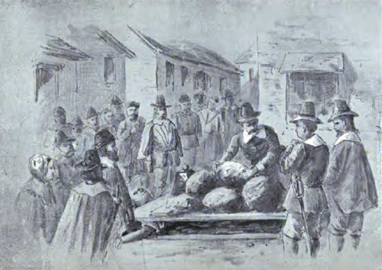 Giles Corey's Punishment and Awful Death