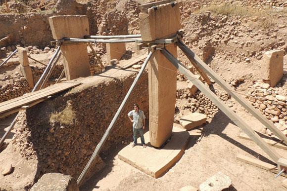 Massive megaliths - Gobekli Tepe