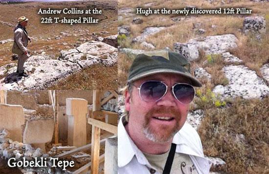 Gobekli Tepe Pillars - Hugh Newman