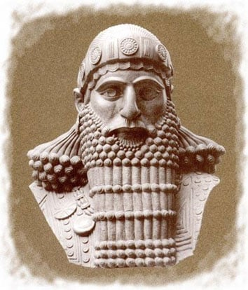 Hammurabi Depiction