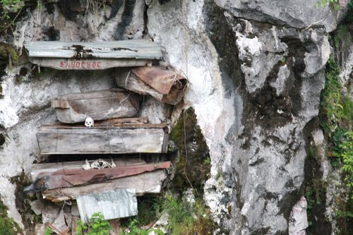 The hanging coffins of Sagada