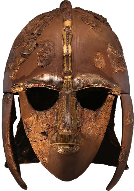 The Anglo-Saxon helmet is one of the most important finds from Sutton Hoo. (Usernameunique / CC BY-SA 4.0)