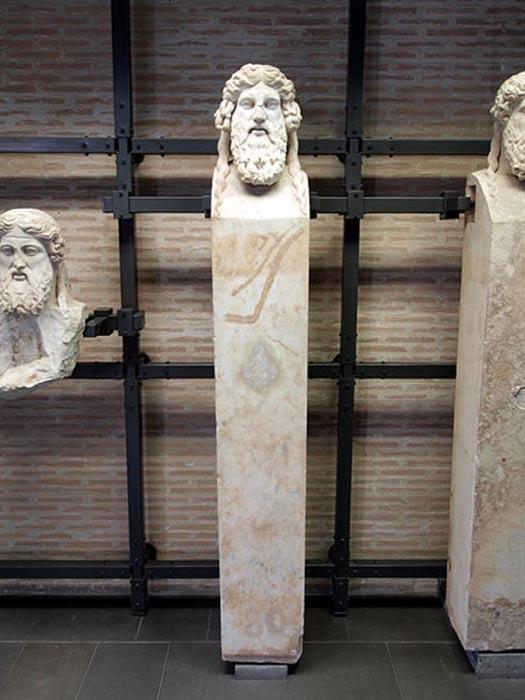 A herma in the Vatican Museum.