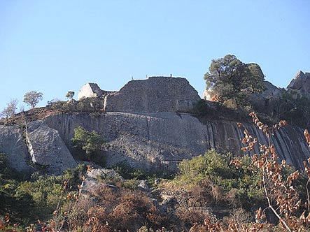 The Hill Complex in the Great Zimbabwe