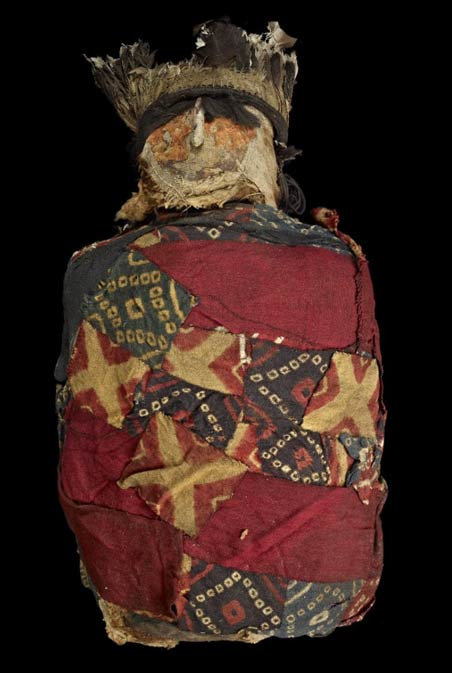 A human mummy of the Chachapoyas