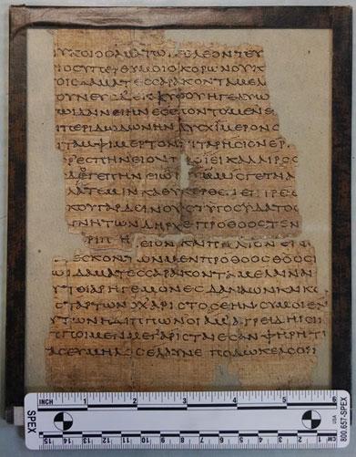 Iliad - Papyrus Oxyrhynchus 21