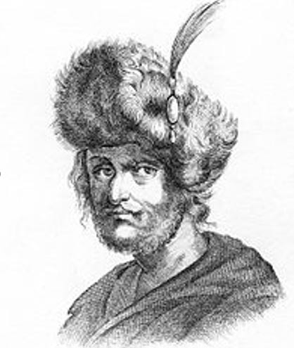 A 19th century illustration of False Dmitri II.