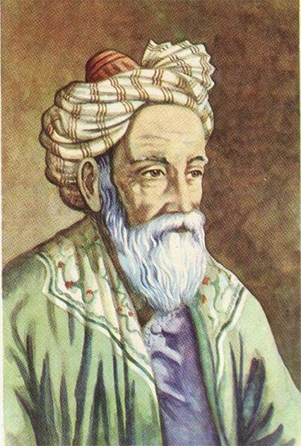 Portrait of Omar Khayyam (Atilin / CC 3.0)