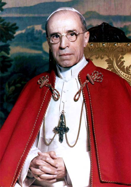 Eugenio Pacelli Pope Pius XII started the official research into Peter's tomb. (Michael Pitcairn / Public Domain)
