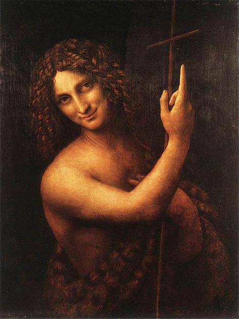 Depiction of John the Baptist (Leonardo da Vinci (1513) / Public domain)