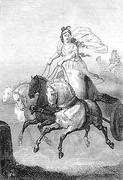 Kyniska: the first woman in the Olympic Games. And she won the races two times! (Sophie de Renneville / Public domain)