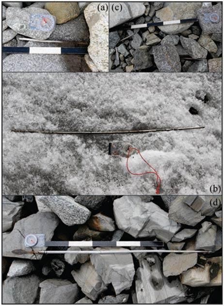 Examples of arrows found at Langfonne. (Lars Holger Pilø et al./The Holocene, 2020)
