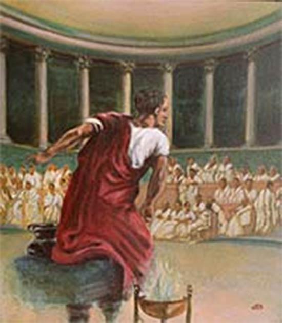 Cicero by unknown artist (Public Domain)