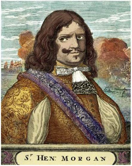 Captain Morgan, a famous pirate in a category of his own. (Public domain)