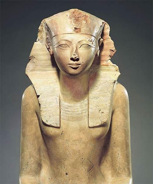 Statue of the famous female ruler, Hatshepsut. (CC0)