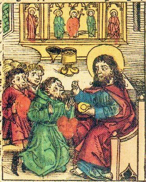 Prester John from Hartmann Schedel's Nuremberg Chronicle. (1493) (Public Domain)