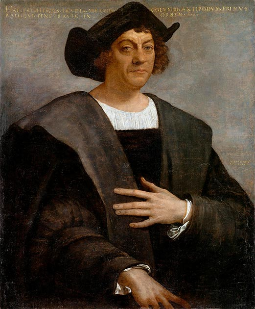 Were Vikings in South America before Christopher Columbus? Pictured: posthumous portrait of Christopher Columbus. (Sebastiano del Piombo / Public domain)