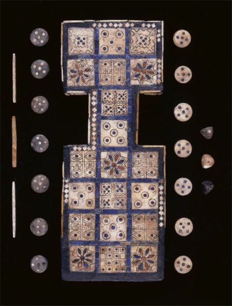 The Royal Game of Ur board shape is unmistakably human. (The Trustees of British Museum / Provided by the author)