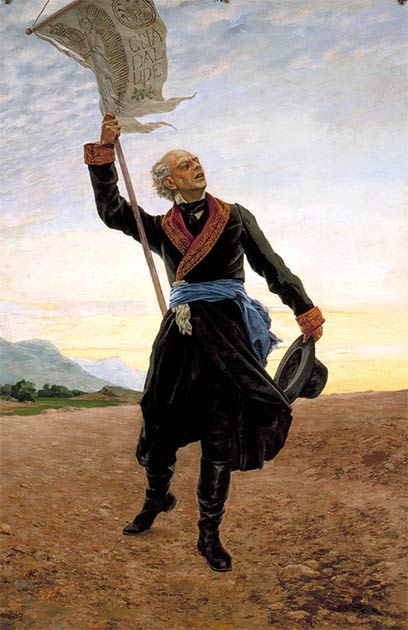 Portrait of Miguel Hidalgo by Antonio Fabrés. (Public domain)