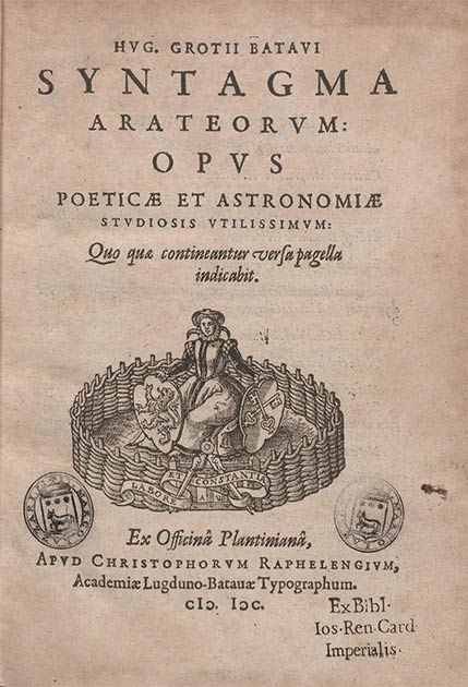 A Latin copy of the ancient Greek poet Aratus's primary work: Phaenomena. (Biblioteca Europea di Informazione e Cultura / Public domain)