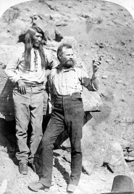 John Wesley Powell in the Grand Canyon. (Grand Canyon National Park / CC BY 2.0)