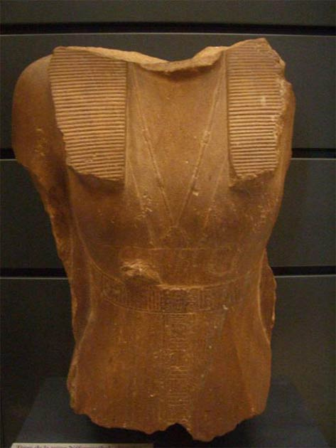 Bust of Sobekneferu on display in the Louvre, Paris. Credit: Wiki Commons Agreement, 2020.
