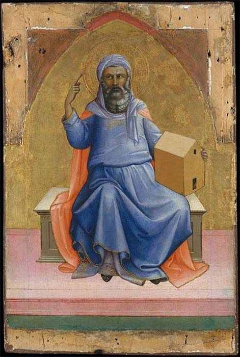 Noah by Lorenzo Monaco (circa 1370 –circa 1425 ) Metropolitan Museum of Art (CC0)