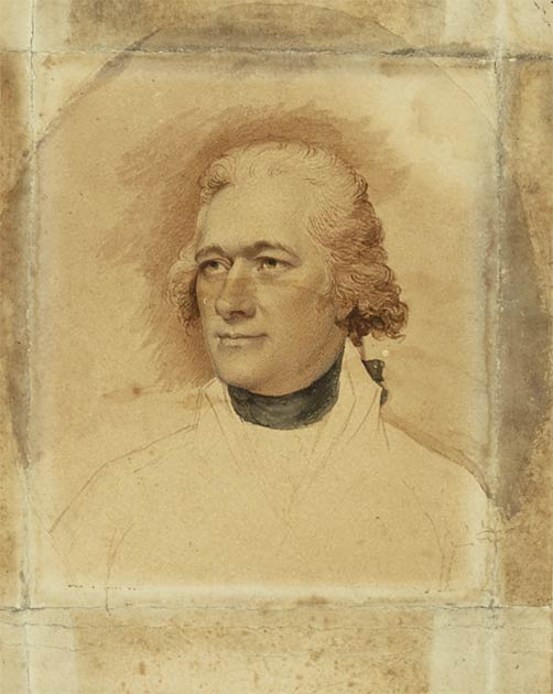 Portrait of her husband Alexander Hamilton around 1794. (Litererian1912 / CC BY-SA 4.0)