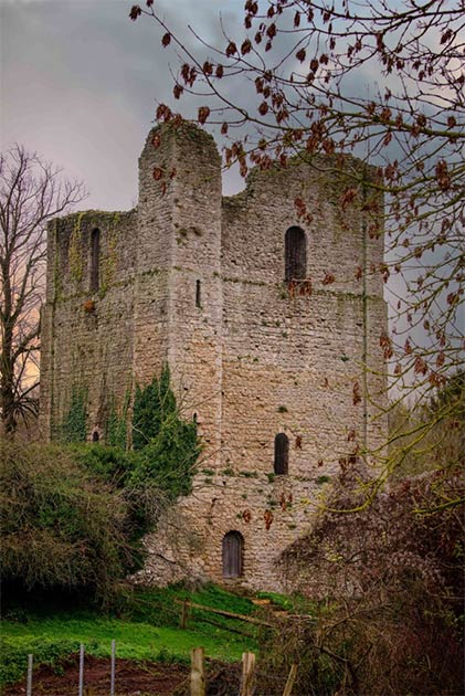 St. Leonard's Tower in Kent, is a free-standing Norman keep. (Jim Holden / English Heritage)