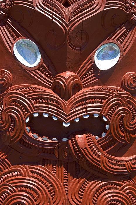 Tūmatauenga, god of war, is the ancestor of humankind. (CC BY-SA 2.5)