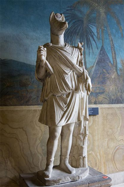 Statue of Hermanubis, (First – Second Century AD) Vatican Museums (Colin / CC BY-SA 3.0)