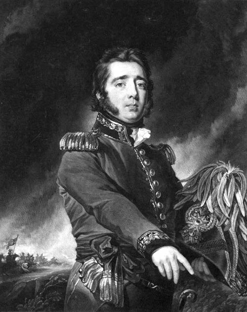 Gregor MacGregor, who claimed to be Cazique of the fictional Poyais. (Public domain)