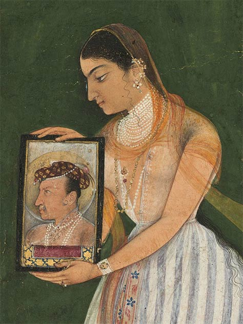 Nur Jahan's life took an unexpected turn when she caught the eye of Emperor Jahangir in 1611, who made her his twentieth and final wife.  (Public domain)