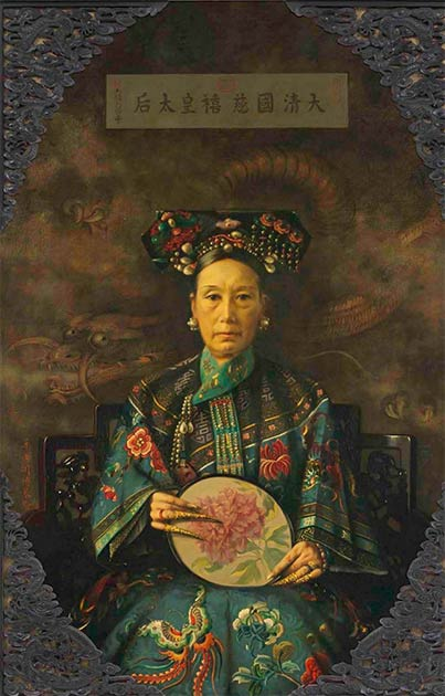 The Empress Dowager Cixi in all her glory. (Hubert Vos / Public domain)