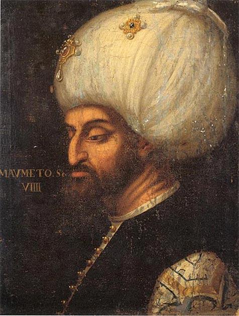 Portrait of Sultan Mehmed II the Conqueror. (Public Domain)
